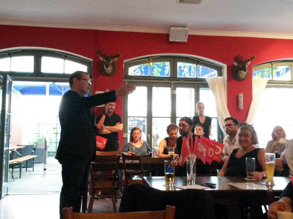 Moderator: Dr. Tobias Hammerl, Stadtrat und OV Vorsitzender